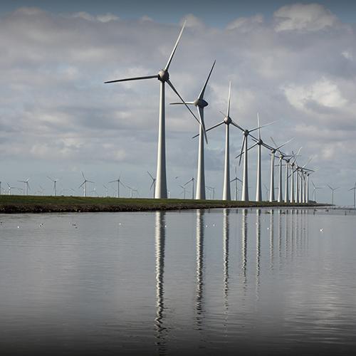 Circlic - pierścienie osadcze sprężynujące - farmy wiatrowe